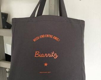 Custom trendy tote bag