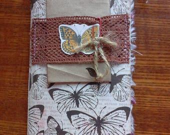 Midori Traveler's Notebook Insert, Junk Journal, Midori Insert, Botanical Junk Journal