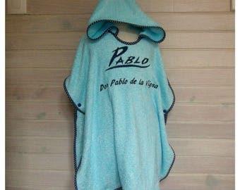 Don Pablo age 0-4 bath poncho bamboo