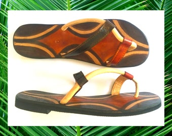 The Jungle Rock Leather Sandals - Made to Order