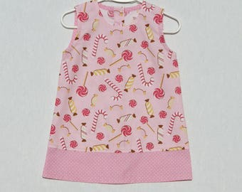 Dress pattern Candy Girl 2 years.