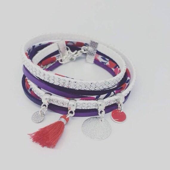 """My Bright Star"" by Palilo jewelry liberty MULTISTRAND bracelet"