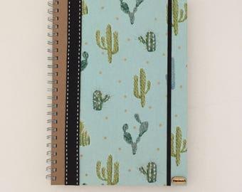 A handmade notebook