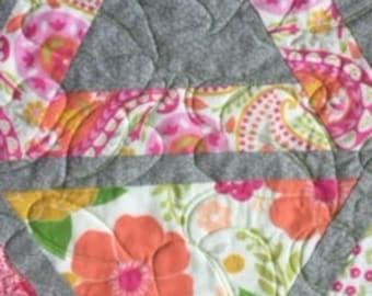 Chopsitcks quilt pattern - Twin size