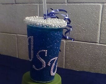 Pearl and GLITTER TUMBLERS