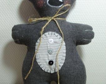 Little grey bear