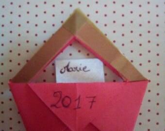 Set of 50 mini origami bags