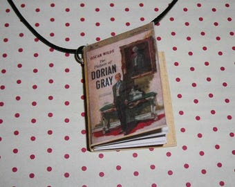 The picture of Dorian Gray (Book necklace) book necklace