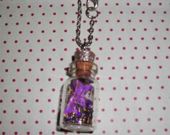 Princess vial necklace