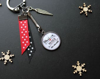 "Keychain ""Best MOM in the world"""