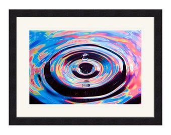 Psychedelic Water Droplet