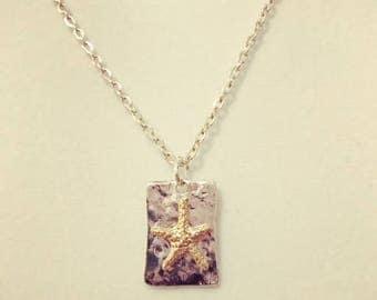 Starfish pendant necklace