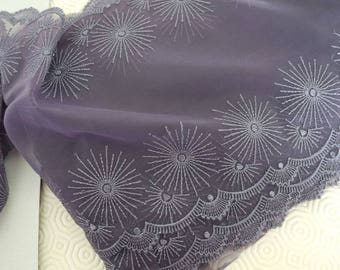 Lace purple 50 x 19