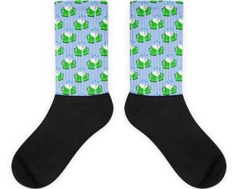 st patricks day Socks green beer emoji