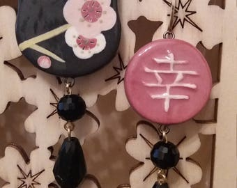 Japanese Cat Earrings