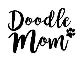 Doodle Mom Decal