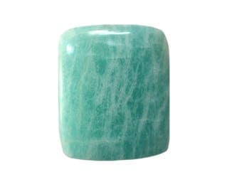 Amazonite Cabochon, Natural Inclusion At Wholesale Price big piece 27.70 cts. 22x26 mm 100% Natural Loose Gemstone - Am - 13