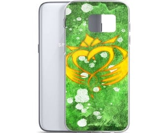 Hand Drawn Irish Celtic Claddagh Samsung Phone Case