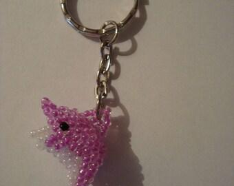 Dolphin Keychain pink
