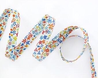 Véritable Biais Liberty Eve A x 50 cm ruban pour bracelets, bijoux....