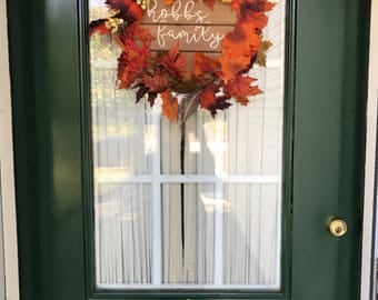 Fall festive door sign