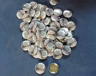 Very attractive buttons marks places for your wedding