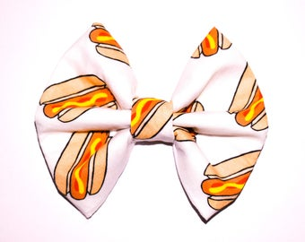 Hot Diggity Dog bow
