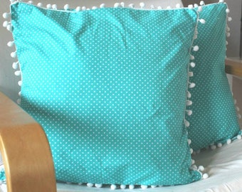 Cushion Cover In Turquoise