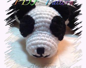 PDF Panda Ring (AMIGURUMI)