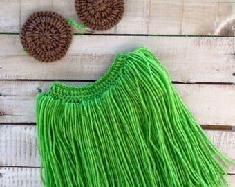 Crochet Hula Set