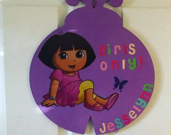 Playroom or Bedroom Door Hanger