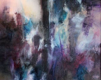 Instant disorders - abstract painting