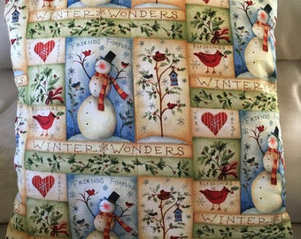 Christmas Holiday Decorative Pillow