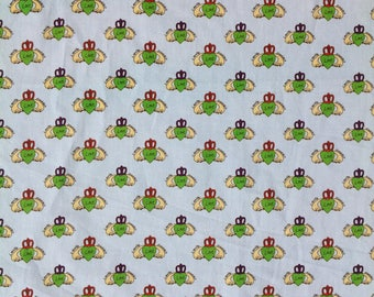 Irish Claddagh fabric