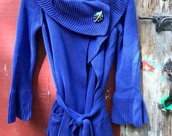Sonia Rykiel Cotton Wrap Sweater