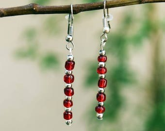 Snapdragon earrings