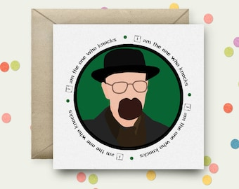 Breaking Bad Square Pop Art Card and Envelope