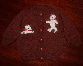 Bearly There Sweater