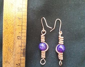 Wire Twist Earrings