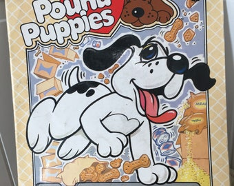 Pound Puppies Book, First Edition Paperback Max the Pound Puppy Book, 1987Pound Puppies