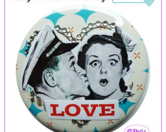 Valentine's day (No. 21) Vintage badges collection