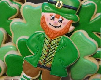 Leprechaun/Pot O Gold Sugar Cookies