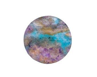 Soft Pastell Planet Moon Print / Poster