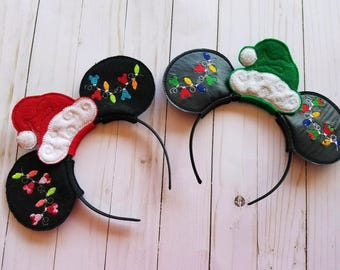 Mickey Mouse Inspired Christmas Ears