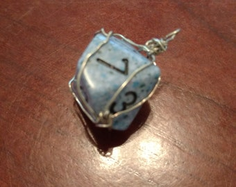 D10 Wire Wrapped Charm