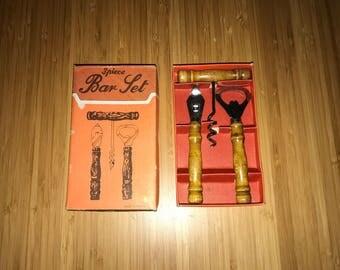 3-Piece Bar Set w/ Original Box