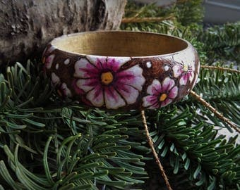 Beautiful Floral Bangle