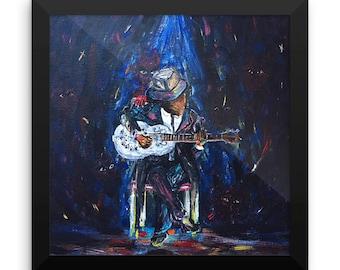 The Last Song - Blues Mythology Inspired Print -