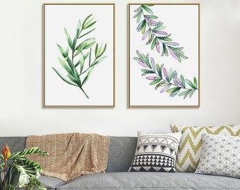 Merveilleux Monstera Leaf Print, Tropical Palm Leaves Print, Tropical Wall Decor,  Tropical Print,