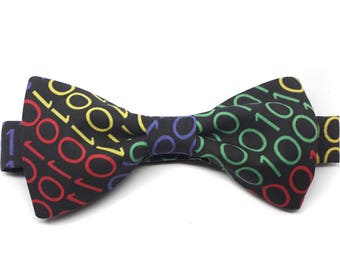 Handcrafted Binary pre-tied bow tie LIMITED COLLECTION